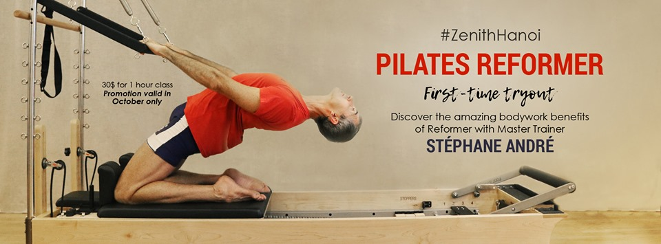 Pilates Reformer - First Time Tryout with Master Trainer Stéphane André