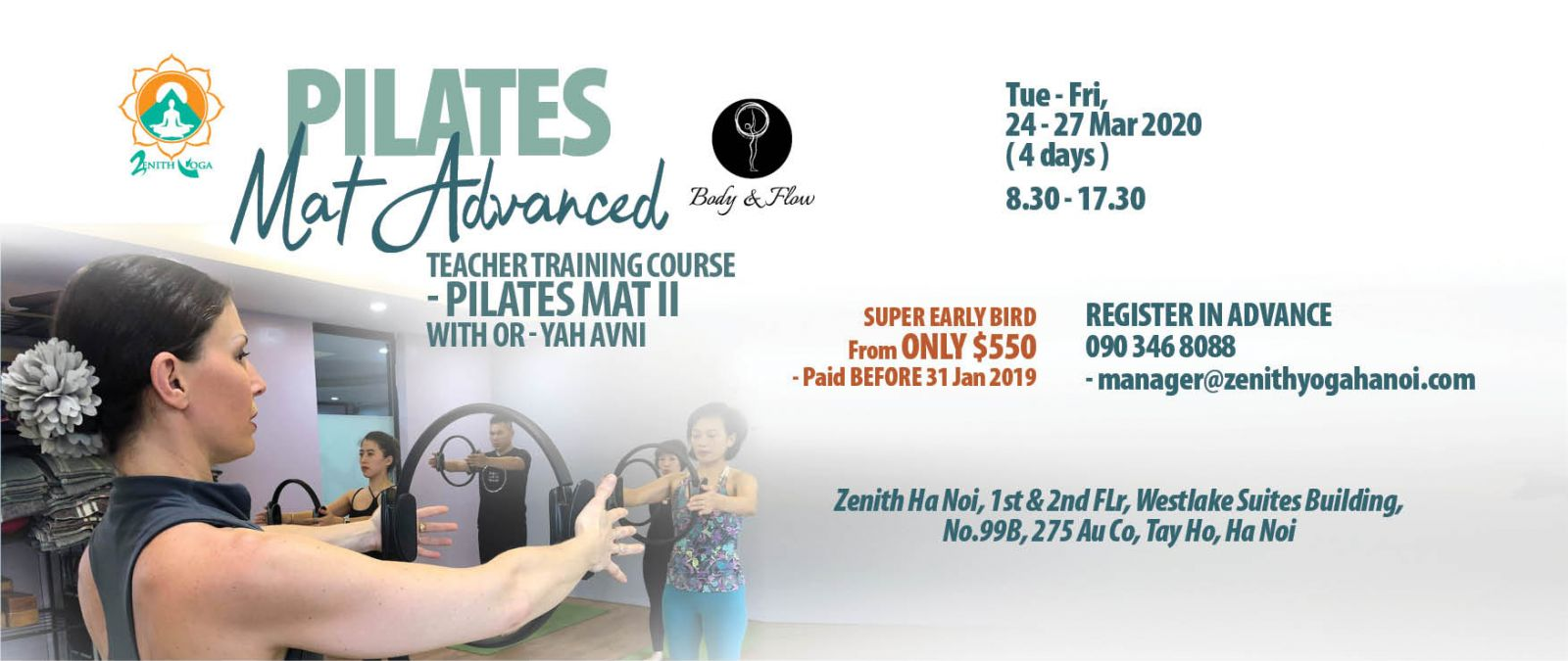 Pilates Mat II Course