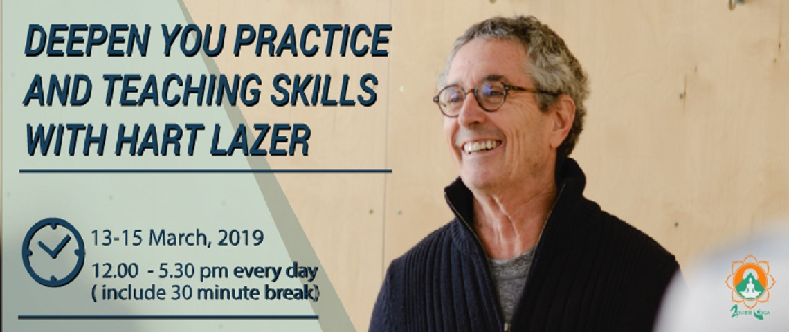 Deepen your practice and teaching skills with Hart Lazer